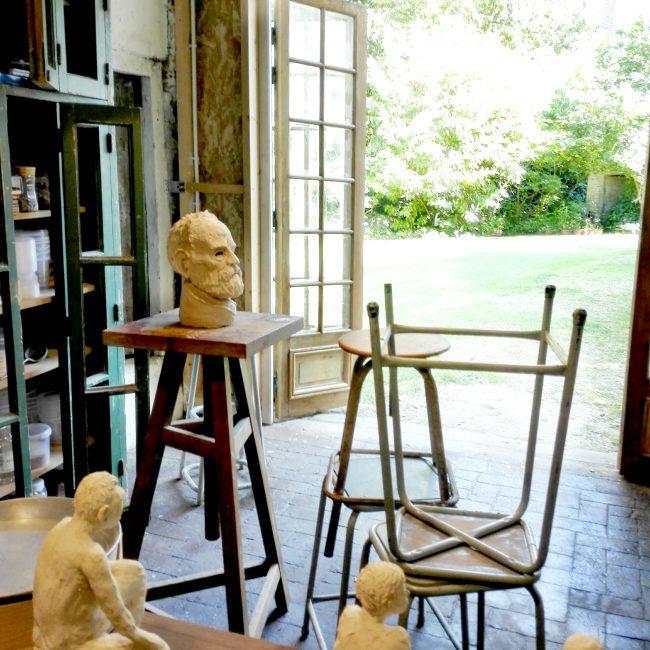 Atelier Jules Verne - Stages de sculpture modelage - Raku - Atelier Jules Verne - Florence Lemiegre - Assigny 76 – Normandie