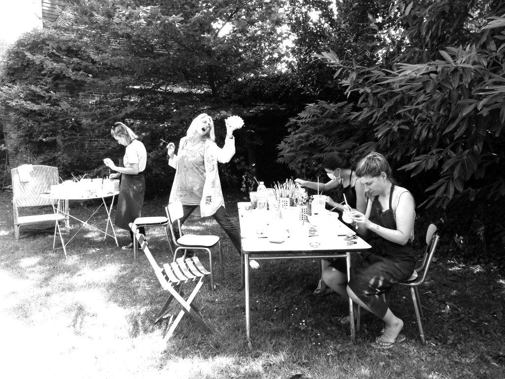 Stage Raku - Aventure découverte avec le feu - Atelier Jules Verne - Florence Lemiegre